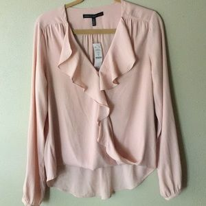 Blush blouse NEW